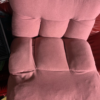 つながるポケットコイル座椅子 ピンク