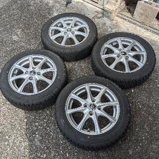 【ネット決済・配送可】155/65r14 スタッドレスタイヤ4本セット