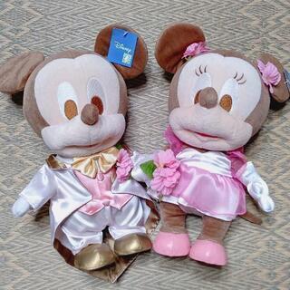 【あげます】ウェディング ミッキー&ミニー ぬいぐるみ