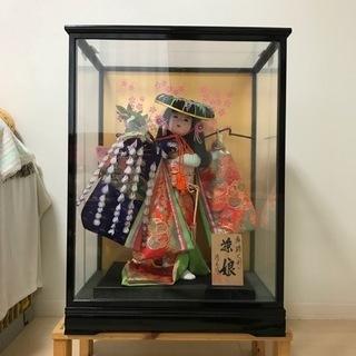 【ネット決済】日本人形 藤娘 ケース入り