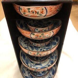 和光園 親子鉢(5客セット)