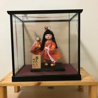【ネット決済】日本人形 夢わらべ ケース入り
