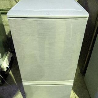 N 1013-2 SHARP 冷蔵庫 SJ-D14C-S 201...