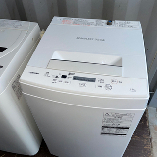 No.1112 TOSHIBA 4.5kg洗濯機 2018年製 ...