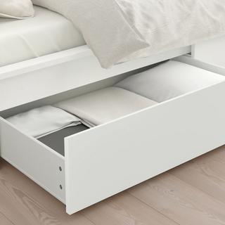 IKEA マルム ベッド下収納ボックス3つ