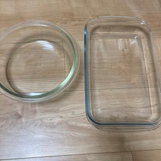 【ネット決済】耐熱ガラス 2つセット