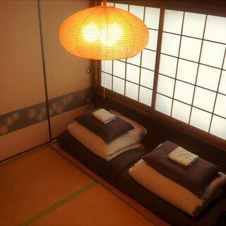 【難波から2駅】国際的ゲストハウス*初期費用0*家具付