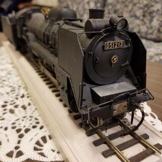 蒸気機関車の模型