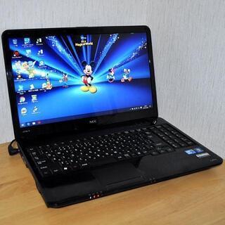 爆速i5/高速SSD/メモリ8GB/人気のブラック/Office...
