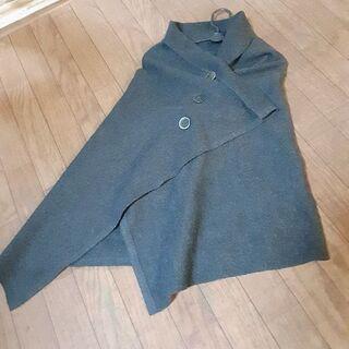 厚手のデザイン羽織 MからLサイズ