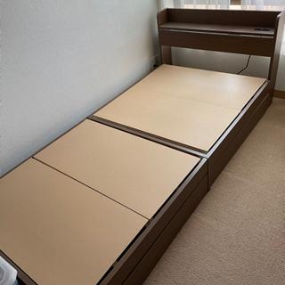 【引渡し先決定】ベッドフレーム シングルサイズ