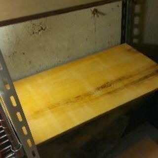 あげますDIY無塗装木製板簡易ラック