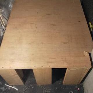 あげますDIY木製無塗装の台