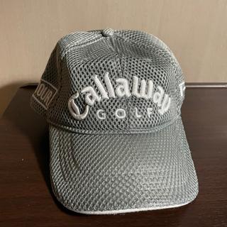 【ネット決済】ゴルフキャップ(キャロウェイ)グレー