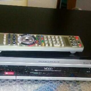 日立ビデオレコーダー DV-DH160W 2番組同時録画