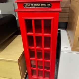 LOMDON TELEPHONE BOOTH ミニラック 一枚扉