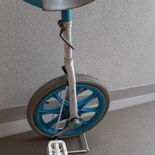 【差し上げます】 一輪車 スタンド付き