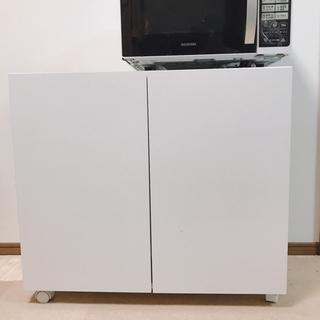 収納棚 クローゼット 白 ホワイトの画像
