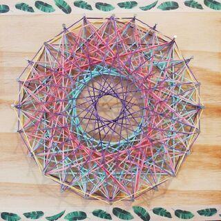 11月 曼荼羅アート遊び