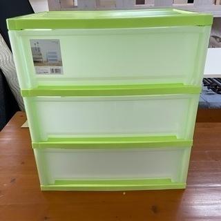 アイリスオーヤマ チェスト ワイド 3段   リサイクルショップ...