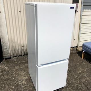ヤマダオリジナル  2019年製  2ドア冷凍冷蔵庫  156L...