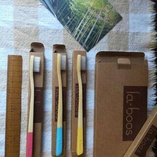 竹の歯ブラシ1本