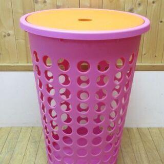 htp-751 Plast team 洗濯物カゴ フタ付き ピン...