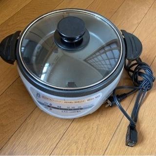 ホットプレート 鍋 2〜3人用