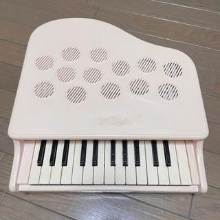 カワイ KAWAI ミニピアノ楽器 P-25 ピンキッシュホワイ...
