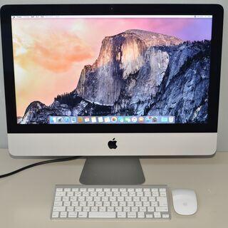【ネット決済・配送可】iMac A1418 ME087 (21....