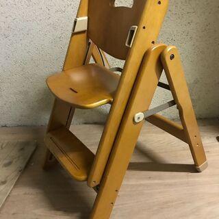MEABLE ミーブル 木製 スライドチェア ベビーチェア 折り...
