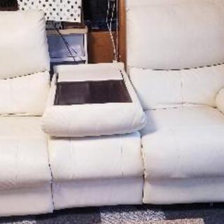 ニトリ3人掛け電動リクライニングソファー