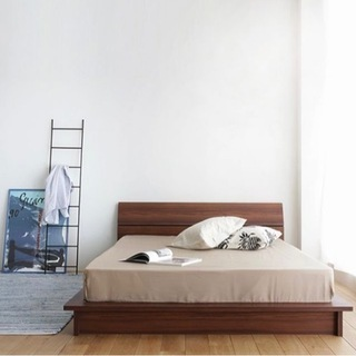 Re:ceno セミダブル ベッド/良品