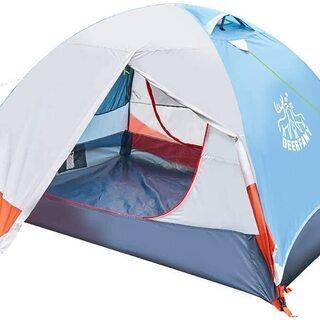 DEERFAMY テント キャンプテント ツーリングテント 自立...