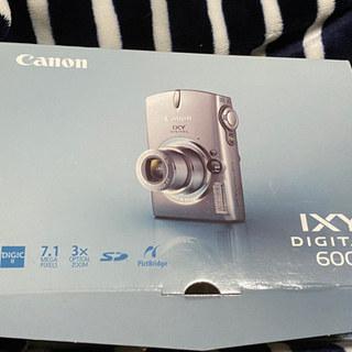 【Canon】デジタルカメラ IXY 600