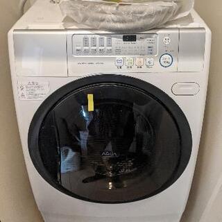 AQUA アクア AQW-D500-L-W [ななめ型ドラム式洗...