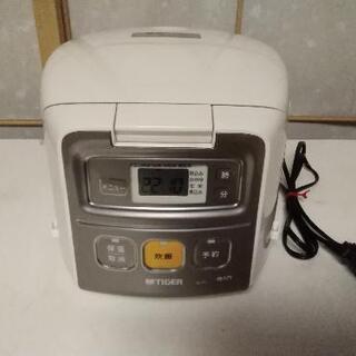 タイガーマイコン  炊飯ジャー    容量 0.54 L (三合炊き)
