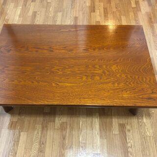 レトロなアンティークローテーブル