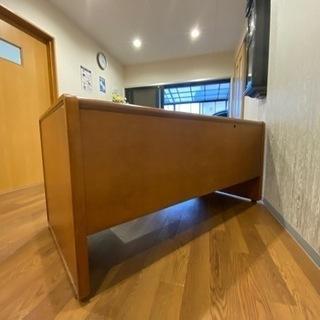 木製デスク カリモク製