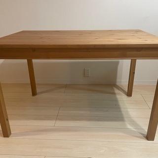 [値下げ] IKEA イケア ダイニングテーブル_アンティークステイン