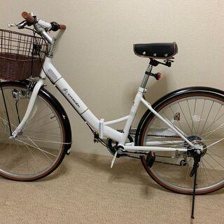 CITROEN シトロエン 26インチ 折りたたみ自転車 シティ
