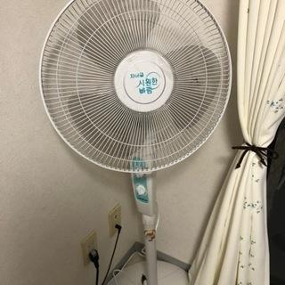 韓国製扇風機です。