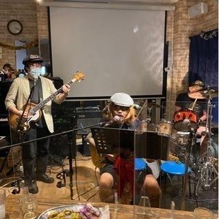 サポートギタリスト&ベーシスト&ドラマー募集