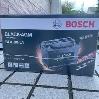 新品未使用品 BOSCH 輸入車バッテリー ブラック-AGM B...