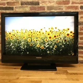 即日受渡❣️東芝REGZA32型TV薄型で大画面の迫力❗️…