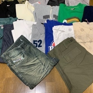 【最終値下げ】ブランド品多数 古着メンズ服 サイズM〜L
