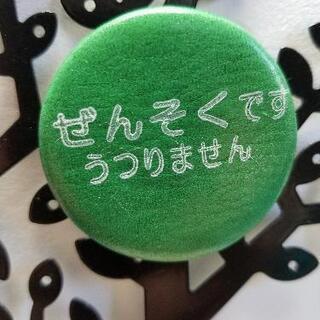 【ネット決済・配送可】ぜんそくバッチ-3