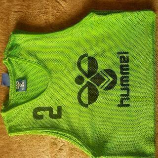 hummel ビブス・ゼッケン 7枚セット(USED)