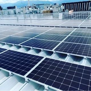 太陽光発電工事手元スタッフ募集!