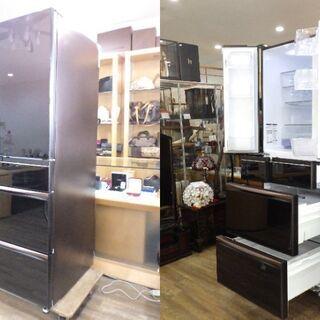 【ネット決済】美品 三菱ノンフロン冷凍冷蔵庫 MR-MX57E-...